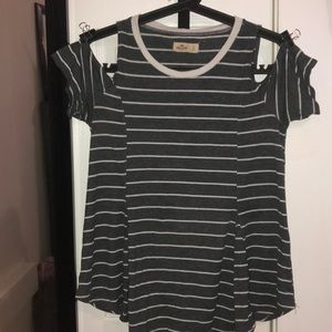 Hollister Cold Shoulder Shirt